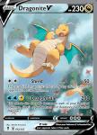 Pokemon Evolving Skies card 192/203 Dragonite V