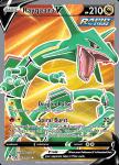 Pokemon Evolving Skies card 193/203 Rayquaza V