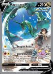 Pokemon Evolving Skies card 194/203 Rayquaza V