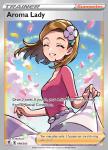 Pokemon Evolving Skies card 199/203 Aroma Lady