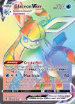 Pokemon Evolving Skies card 208/203 Glaceon VMAX