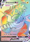 Pokemon Evolving Skies card 210/203 Dracozolt VMAX
