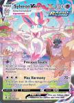 Pokemon Evolving Skies card 212/203 Sylveon VMAX