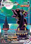 Pokemon Evolving Skies card 215/203 Umbreon VMAX