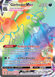 Pokemon Evolving Skies card 216/203 Garbodor VMAX