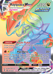 Pokemon Evolving Skies card 217/203 Rayquaza VMAX
