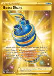 Pokemon Evolving Skies card 229/203 Boost Shake