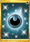 Pokemon Evolving Skies card 236/203 Darkness Energy
